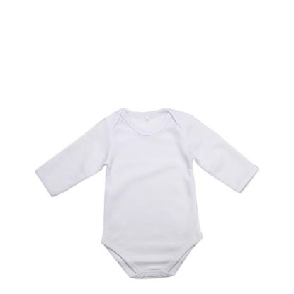Picture of BABY ONESIE - LONG SLEEVE (0-3 months)
