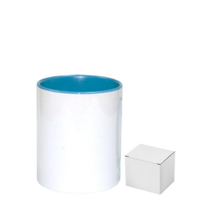 Picture of PENCIL HOLDER - CERAMIC/11oz-BLUE LIGHT(+box)