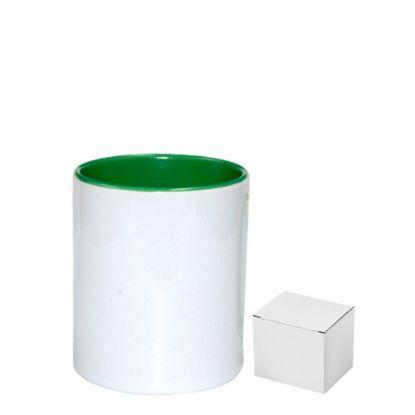 Picture of PENCIL HOLDER - CERAMIC/11oz-GREEN     (+box)