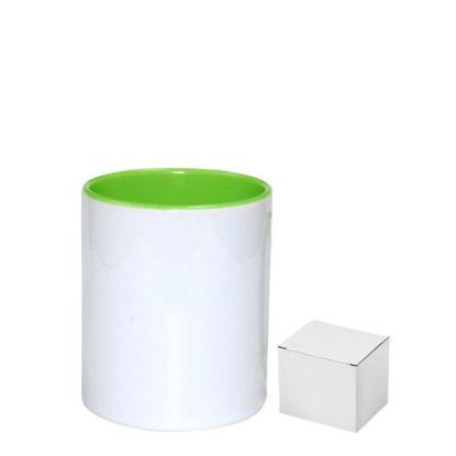 Picture of PENCIL HOLDER - CERAMIC/11oz-GREEN LIG.(+box)