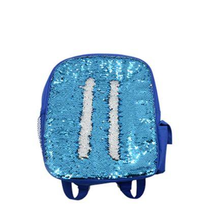 Εικόνα της BACKBAG sequin (BLUE) 25.2x33.3