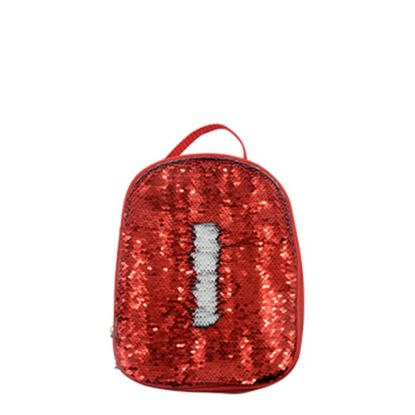 Picture of KIDS LUNCH BAG sequin (RED) 18.9x23.7