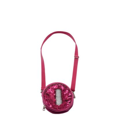Εικόνα της ROUND BAG sequin (ROSE)  13x13