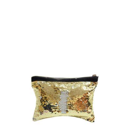 Picture of HANDBAG sequin (GOLD) 19.5x14.5