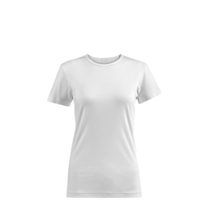 Picture of T-SHIRT POLYESTER - WHITE (XL) women