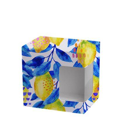 Picture of BOX - MUG 11oz.(WHITE window) Felt Sublimat.