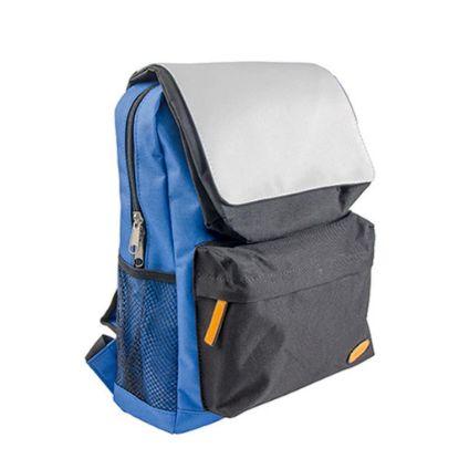 Εικόνα της KIDS SCHOOL BAG - BLUE with BLACK pocket