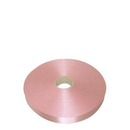 Picture of RIBBON SATIN (1side) Pink Baby 25x100m