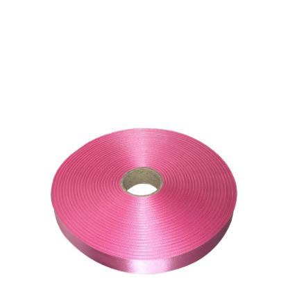 Picture of RIBBON SATIN (1side) Pink Lipstick 25x100m