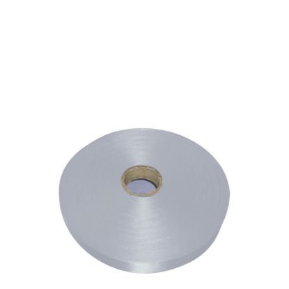Picture of RIBBON SATIN (1side) Silver Coin 25x100m