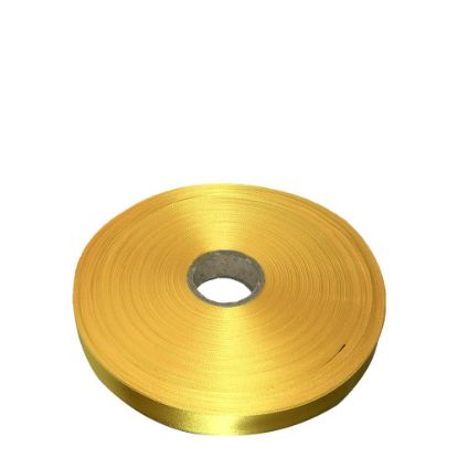 Picture of RIBBON SATIN (1side) Yellow Sunflower 38x100m