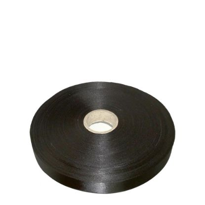 Picture of RIBBON SATIN (1side) Black 38x100m