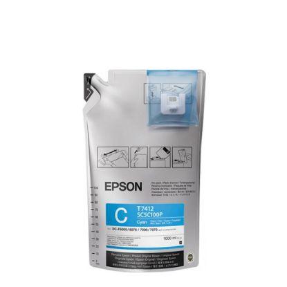 Εικόνα της EPSON (INK) F6200,72, 92 (1 liter) CYAN