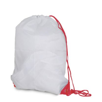 Picture of GYM BAG - 55x40x14 - Polyester/RED cord