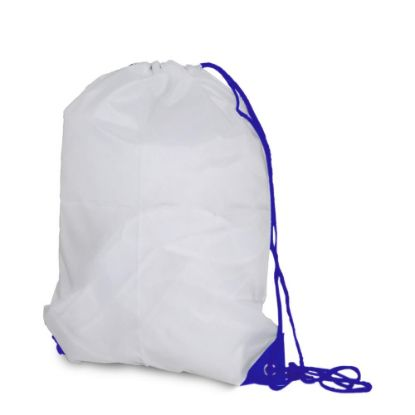 Picture of GYM BAG - 55x40x14 - Polyester/BLUE cord