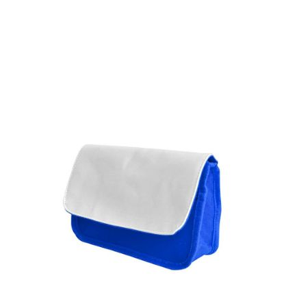 Picture of KIDS - PENCIL CASE - BLUE (changeable flap)
