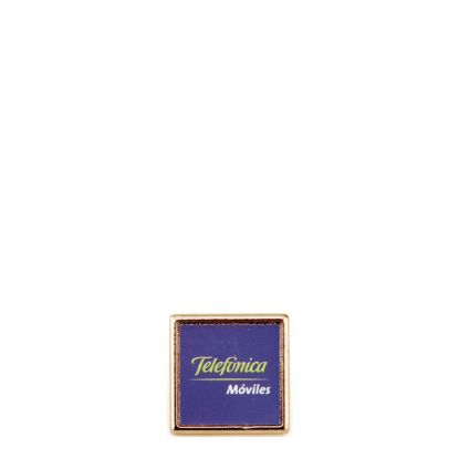 Picture of PIN GOLDEN metal 15x15mm (pack 10)