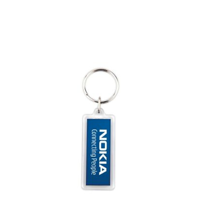 Picture of KEYRING ACRYLIC 2sided-18x50mm (pack 100)