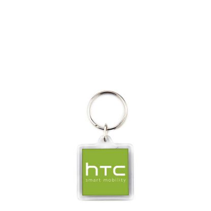 Picture of KEYRING ACRYLIC 2sided-32x32mm (pack 100)