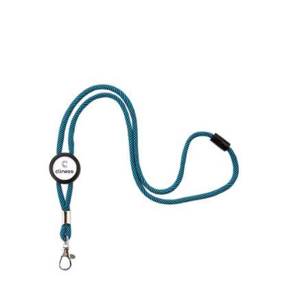 Εικόνα της LANYARD BLUE/cord  (pack 100)