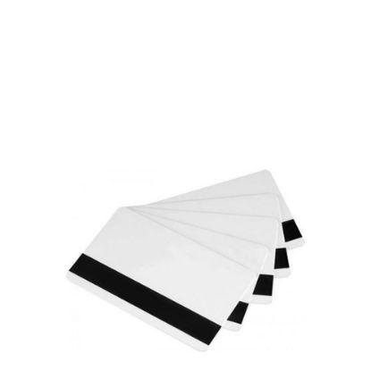Εικόνα της PVC CARDS WHITE (MAGNETIC STRIP) 100 cards