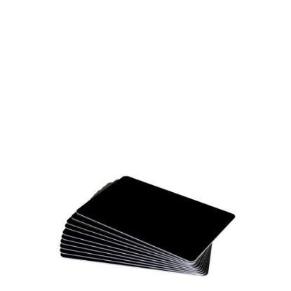 Εικόνα της PVC CARDS BLACK gloss (PLAIN) 100 cards