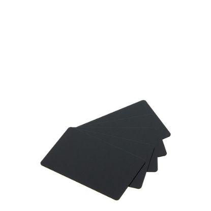 Εικόνα της PVC CARDS BLACK matt (PLAIN) 100 cards