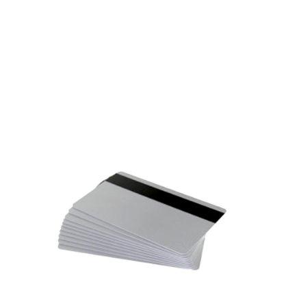 Εικόνα της PVC CARDS SILVER (MAGNETIC STRIP) 100 cards