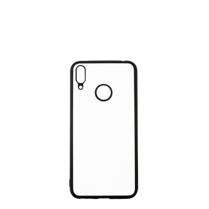 Picture of HUAWEI case (Y7 Prime 2019) TPU BLACK with Alum. Insert