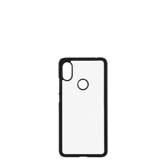 Picture of XiaoMi case (Redmi S2) PC BLACK with Alum. Insert
