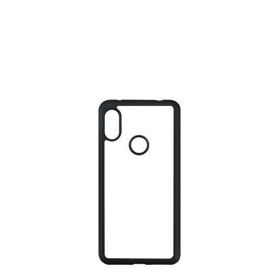 Εικόνα της XiaoMi case (Redmi NOTE 6 Pro) PC BLACK with Alum. Insert