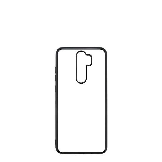 Picture of XiaoMi case (Redmi NOTE 8 Pro) TPU BLACK with Alum. Insert