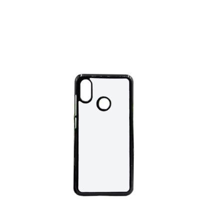 Picture of XiaoMi case (Mi 8) PC BLACK with Alum. Insert