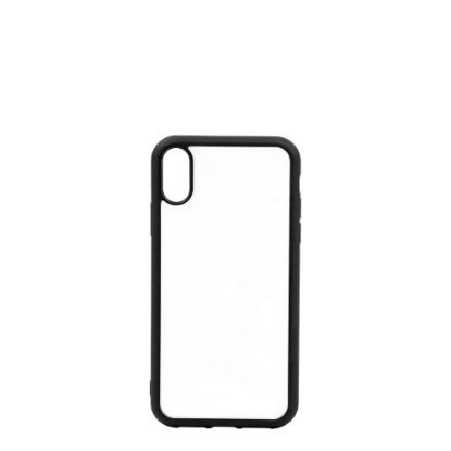 Picture of APPLE case (iPHONE XR) TPU BLACK with Alum. Insert