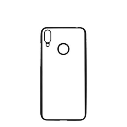 Picture of HUAWEI case (Y7 2019 with Fingerprint) TPU BLACK with Alum. Insert