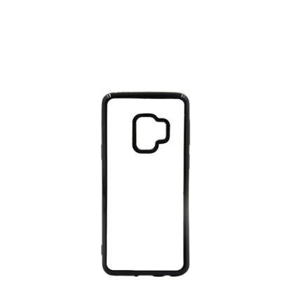 Εικόνα της GALAXY case (S9) TPU BLACK with Alum. Insert