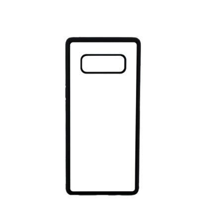 Εικόνα της GALAXY case (NOTE 8) TPU BLACK with Alum. Insert