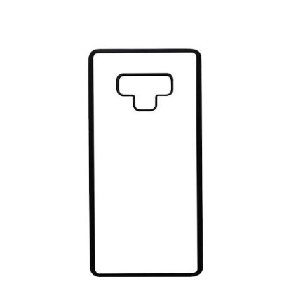 Εικόνα της GALAXY case (NOTE 9) TPU BLACK with TEMPERED GLASS
