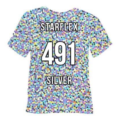 Picture of POLI-FLEX STARFLEX (SILVER) 50cmx1cm