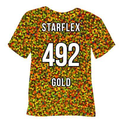 Picture of POLI-FLEX STARFLEX (GOLD) 50cmx1cm