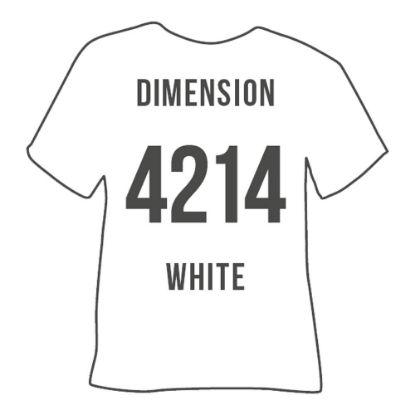 Picture of POLI-FLEX DIMENSION 0.60 (WHITE) 50cmx1m