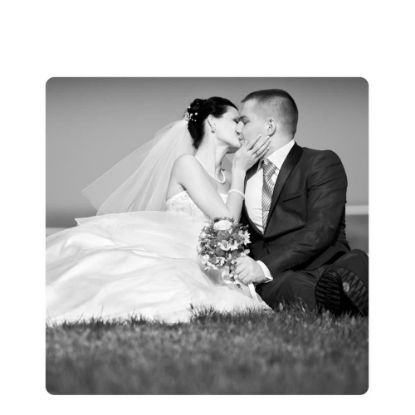Picture of METAL PHOTO PANEL- GLOSS SILVER - 30x30