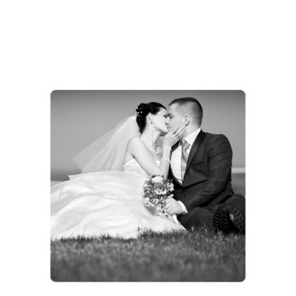 Picture of METAL PHOTO PANEL- GLOSS SILVER - 15x15