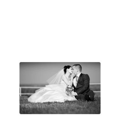 Picture of METAL PHOTO PANEL- GLOSS SILVER - 20.32x30.48