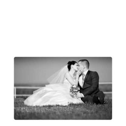 Picture of METAL PHOTO PANEL- GLOSS SILVER - 27.94x43.18