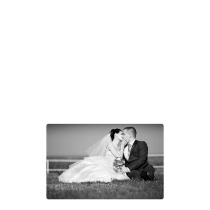 Picture of METAL PHOTO PANEL- GLOSS SILVER - 12.70x27.94