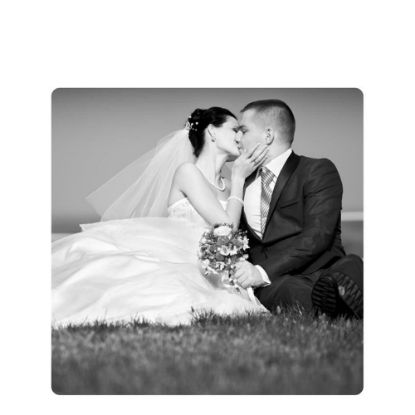 Picture of METAL PHOTO PANEL- GLOSS SILVER - 27.94x27.94