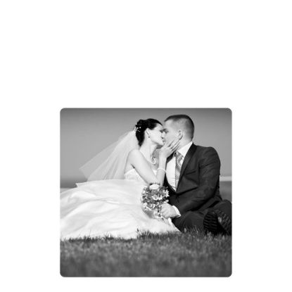 Picture of METAL PHOTO PANEL- GLOSS SILVER - 10.16x10.16