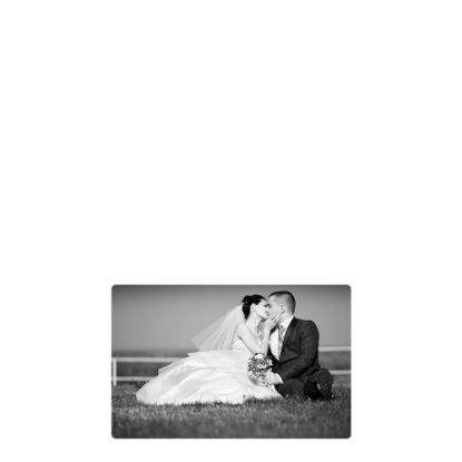 Picture of METAL PHOTO PANEL- GLOSS SILVER -  5.08x7.62