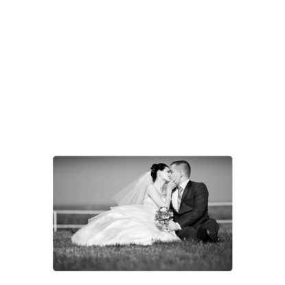 Picture of METAL PHOTO PANEL- GLOSS SILVER - 20.32x25.4